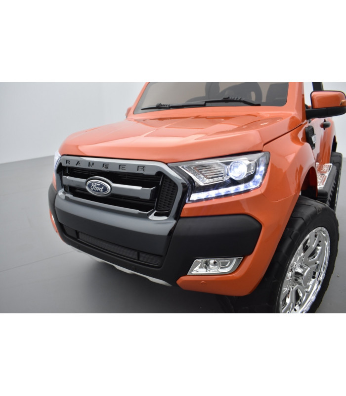 ford ranger 2 x 12v phase 2 orange pride m tallis avec t l commande parentale 2 4 ghz voiture. Black Bedroom Furniture Sets. Home Design Ideas