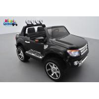 Ford Ranger Version Luxe Noir Non Peint avec télécommande parentale 2.4 GHz, voiture électrique pour enfant 2 places, 12 Volts