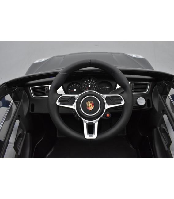 Porsche Macan Turbo 12 volts, voiture électrique pour enfant avec télécommande parentale 2.4 GHz