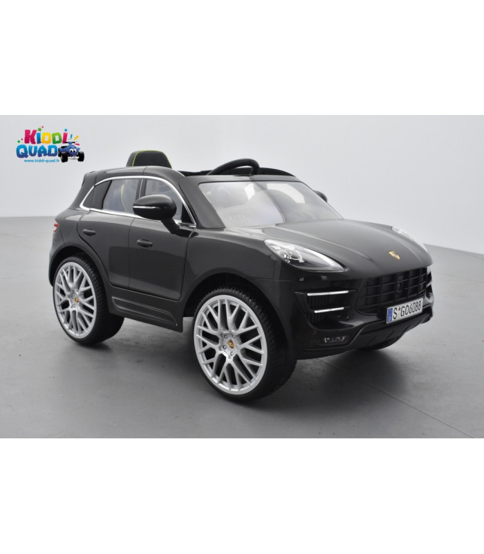 porsche macan turbo 12 volts lectrique pour enfant. Black Bedroom Furniture Sets. Home Design Ideas