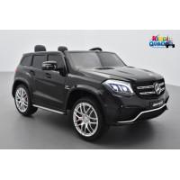 Mercedes GLS 63 4Matic AMG Noir Obsidienne, voiture électrique pour enfant, 12Volts - 4 moteurs