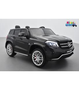 Mercedes GLS 63 4Matic 2 x 12V AMG Noir Obsidienne, voiture électrique pour enfant, 12Volts - 4 moteurs