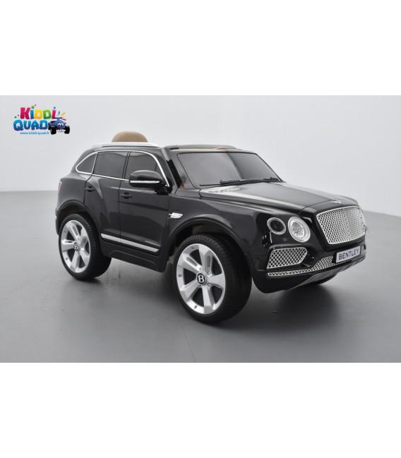 Bentley Bentayga Black Crystal, Voiture électrique pour enfant 12 Volts - 2 moteurs