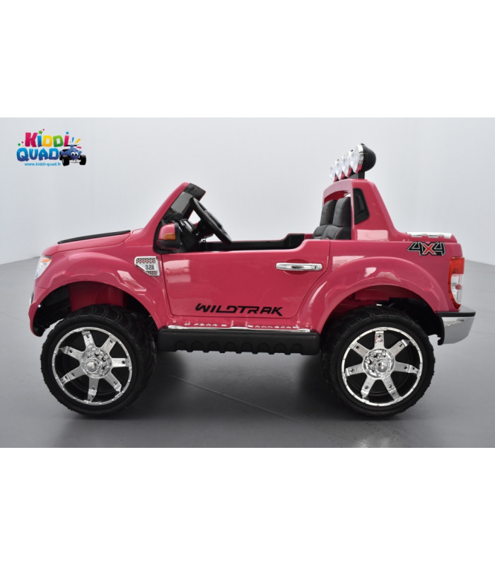 ford ranger 12 volts version luxe rose enfant avec t l commande. Black Bedroom Furniture Sets. Home Design Ideas