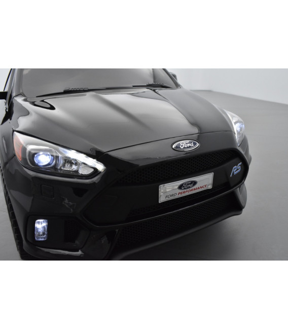 Ford Focus RS MK3 Noir Pack Performance, voiture électrique pour enfant 12 volts