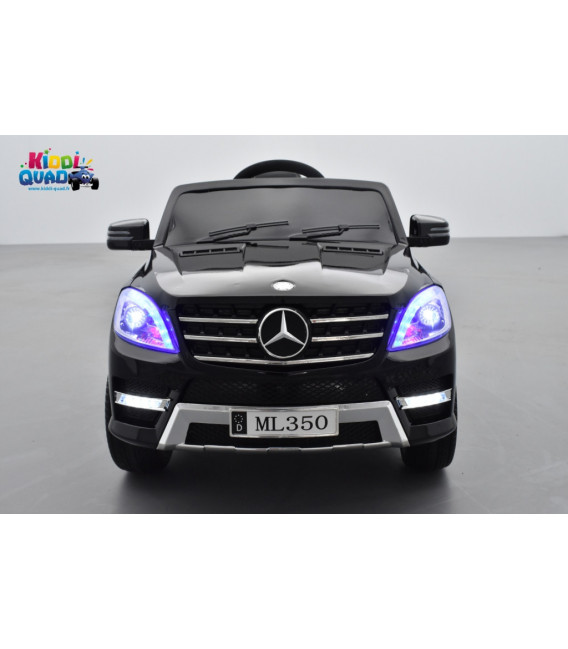 Mercedes ML350  Noir Métallisée, voiture électrique enfant, 12V7AH - 2 moteurs