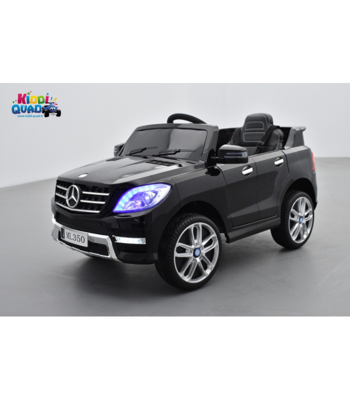 mercedes ml350 noir m tallis e voiture lectrique pour enfant 12v7ah 2 moteurs kiddi quad. Black Bedroom Furniture Sets. Home Design Ideas