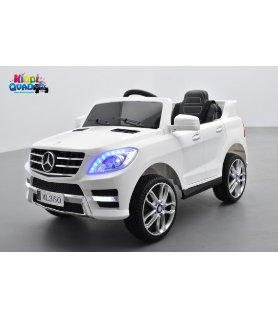 mercedes ml350 blanc voiture lectrique pour enfant. Black Bedroom Furniture Sets. Home Design Ideas