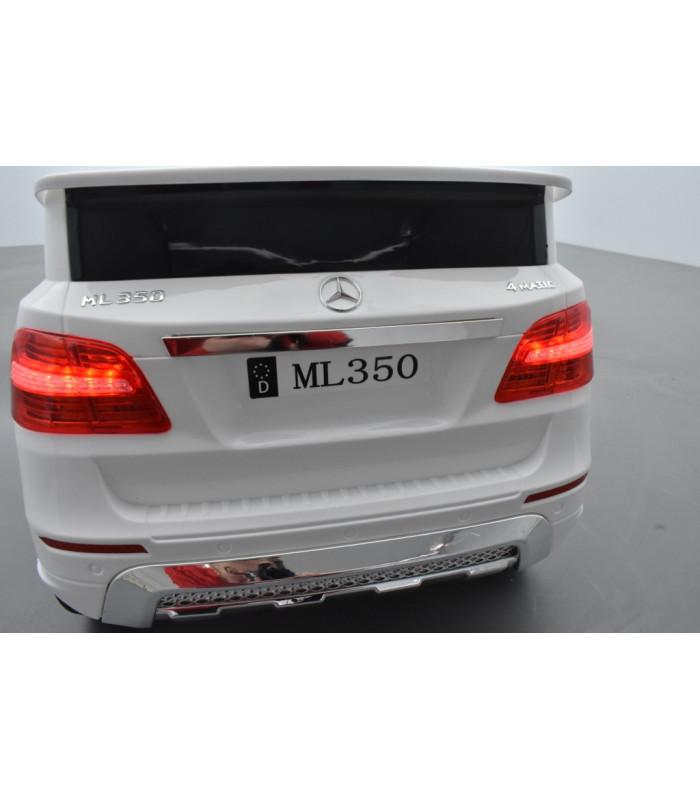 mercedes ml350 blanc voiture lectrique pour enfant 12v7ah 2 moteurs kiddi quad. Black Bedroom Furniture Sets. Home Design Ideas