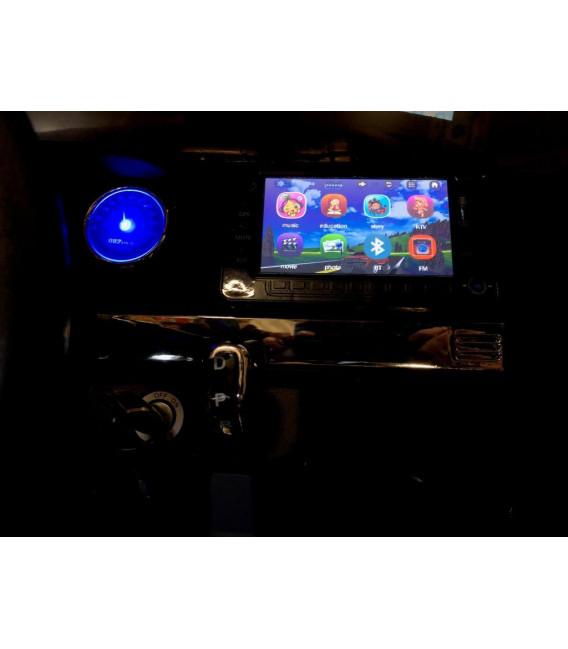 Ford Ranger 2 x 12V Phase 2 Orange Pride métallisé avec télécommande parentale 2.4 GHz, voiture électrique pour enfant 2 places,
