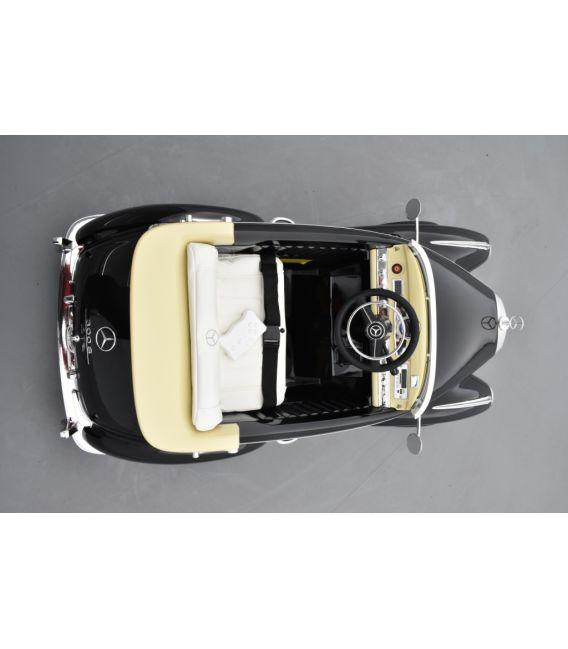 Mercedes 300S Noir Métallisé, voiture électrique pour enfant, 12V - 2 Moteurs
