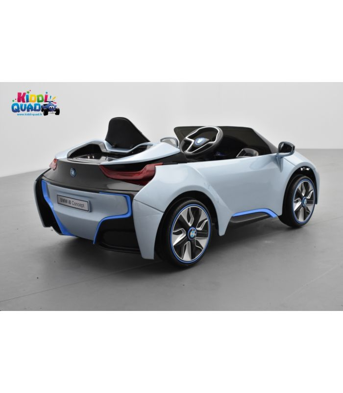 bmw i8 12 volts lectrique pour enfant avec t l commande. Black Bedroom Furniture Sets. Home Design Ideas