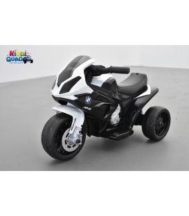 BMW S1000 RR noir, tricycle électrique pour enfant 6 volts