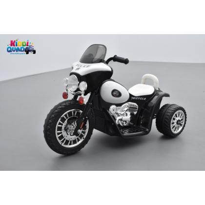 Tricycle Police 3 roues, tricycle électrique pour enfant 6 volts