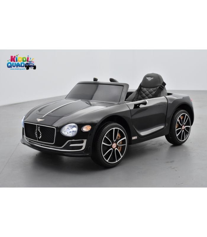 bentley exp rimental noir m tallis e voiture lectrique pour enfant 12volts 2 moteurs. Black Bedroom Furniture Sets. Home Design Ideas