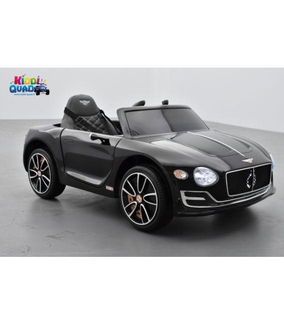 Bentley Expérimental Noir Métallisée, Voiture électrique pour enfant, 12Volts - 2 moteurs