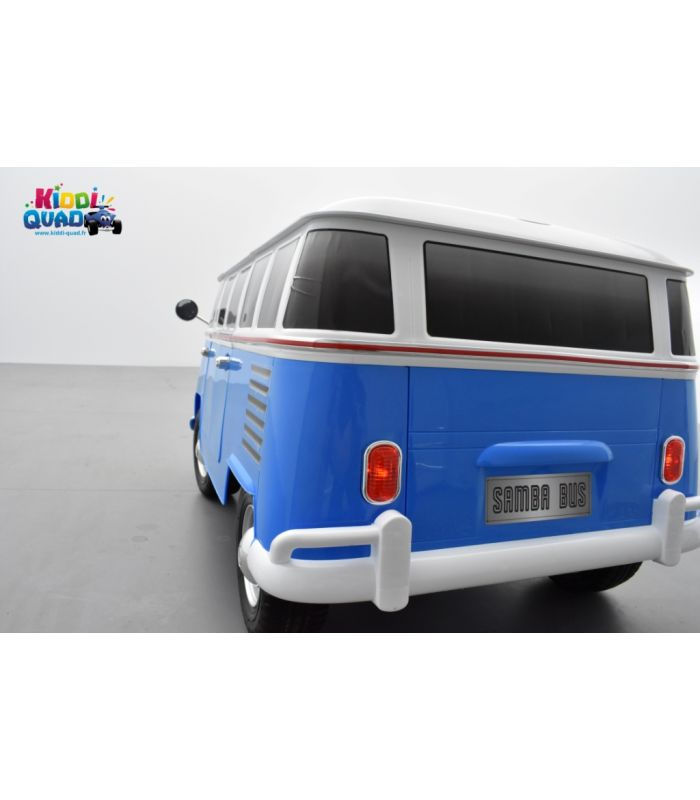 combi van volkswagen 12 volts lectrique enfant avec t l commande. Black Bedroom Furniture Sets. Home Design Ideas