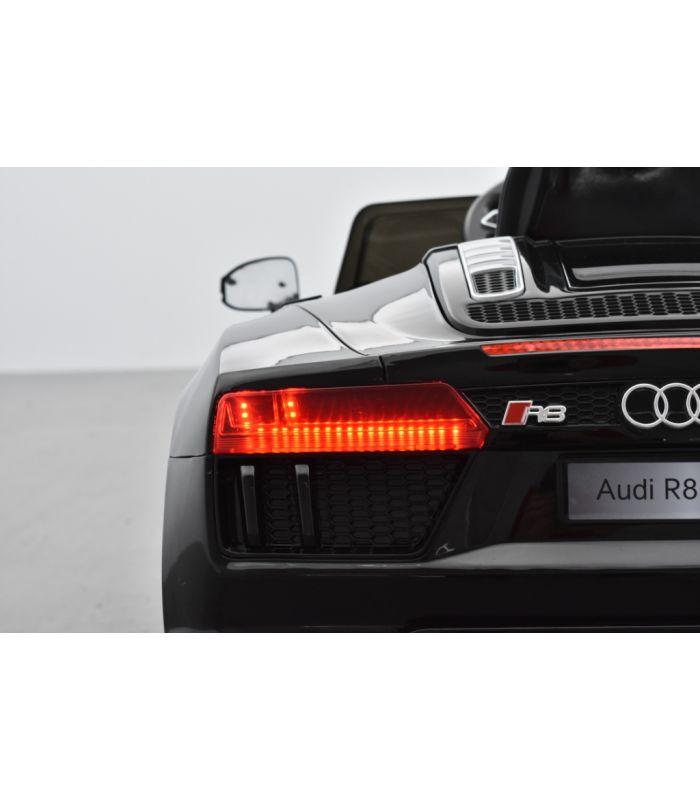 Audi R8 Electrique : audi r8 12 volts spyder noir s tronic lectrique pour enfant ~ Dallasstarsshop.com Idées de Décoration