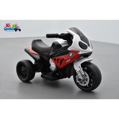 BMW S1000 RR rouge, tricycle électrique pour enfant 6 volts