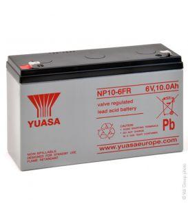 Batterie YUASA 6V10AH pour voitures et motos électrique enfant