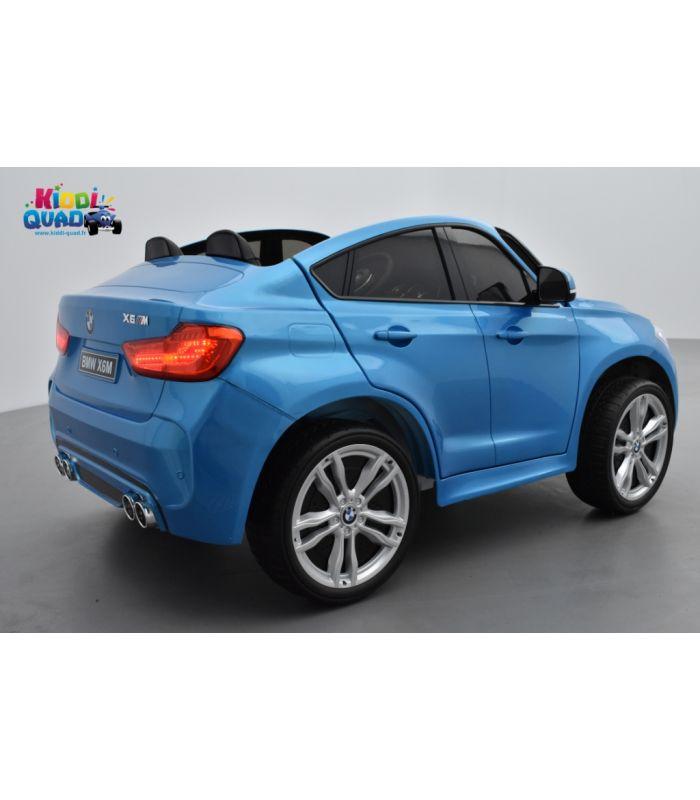 Bmw X6 M Bleu Metallisee 2 Places Voiture Electrique Enfant 12