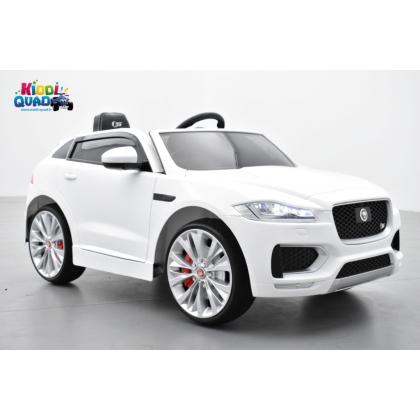 Jaguar F-Pace S Blanc, voiture électrique pour enfant 12 volts - 2 moteurs
